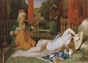 Jean-Auguste-Dominique Ingres odalisque and slave oil painting